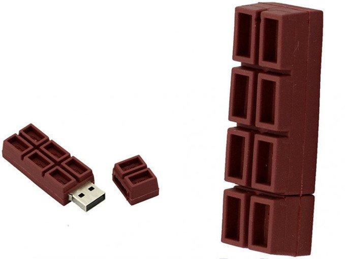 PENDRIVE CZEKOLADA SŁODYCZ USB Flash PAMIĘĆ 8GB