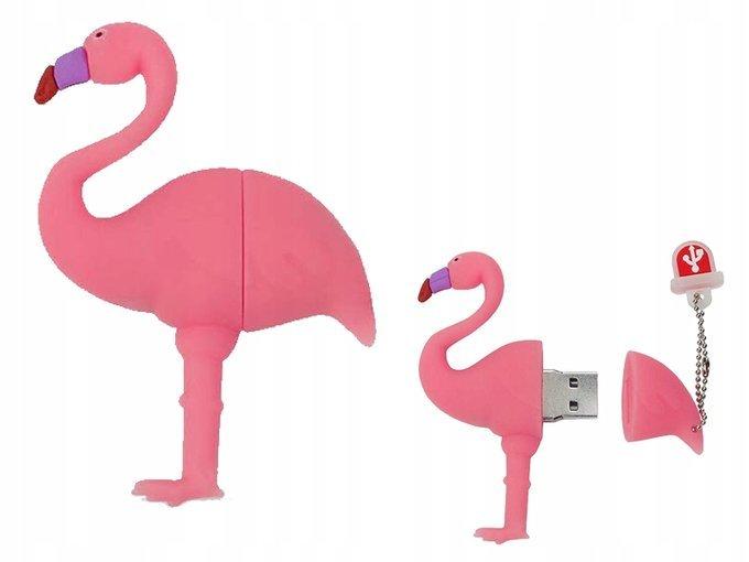 PENDRIVE FLAMING Róż Ptak PAMIĘĆ USB Flash 64GB