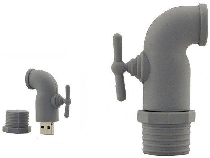 PENDRIVE KRAN HYDRAULIK PAMIĘĆ FLASH USB 16GB