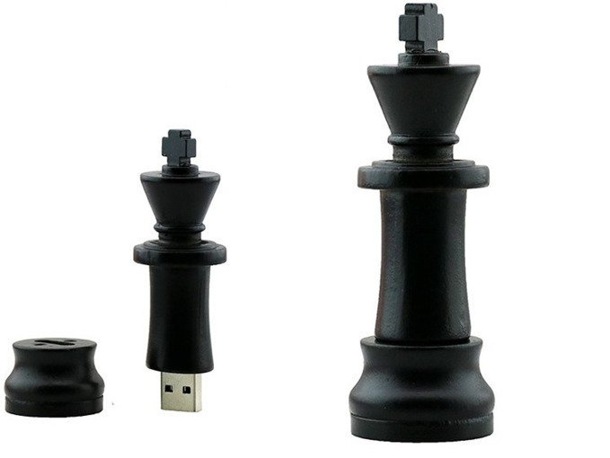 PENDRIVE KRÓL Szachy PIONEK USB Flash PAMIĘĆ 16GB