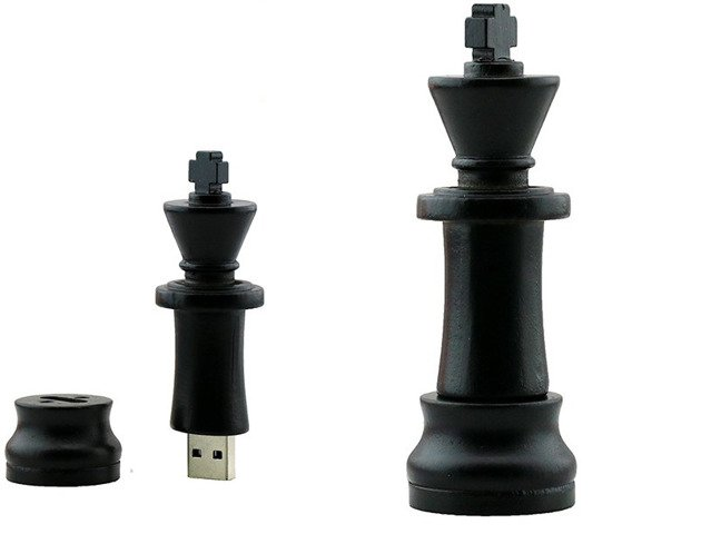 PENDRIVE KRÓL Szachy PIONEK USB Flash PAMIĘĆ 8GB