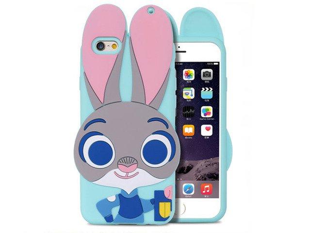 CASE ETUI SILIKON iPhone 5 5s SE JUDY ZWIERZOGRÓD