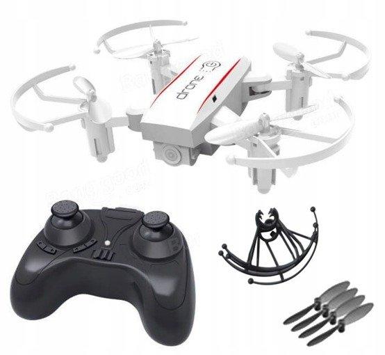 Dron Mini SJY 1601 720P Zabawka WiFi FPV Biały