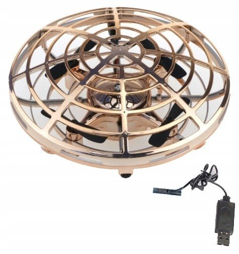 Dron UFO Mini Zabawka Lewitujący LED Podczerwień
