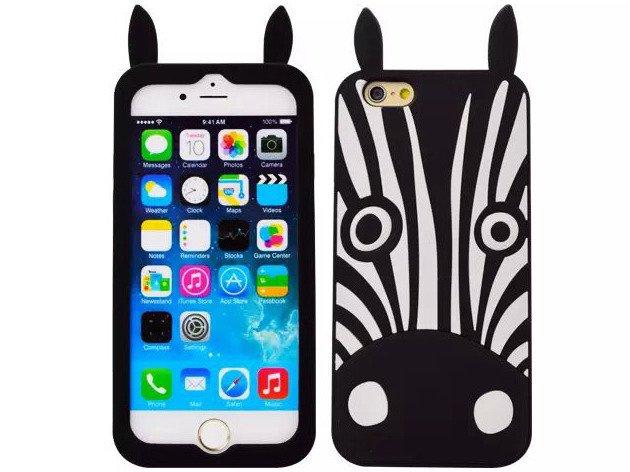 ETUI CASE Obudowa Futerał iPhone 5/5s/SE ZEBRA