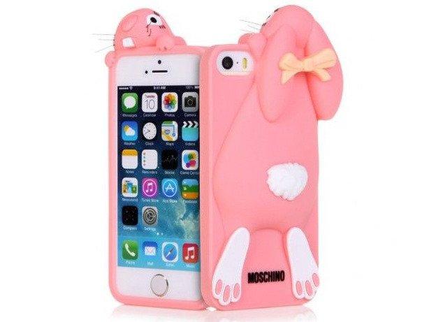 Etui Case Futerał iPhone 6/6s Królik MOSCHINO