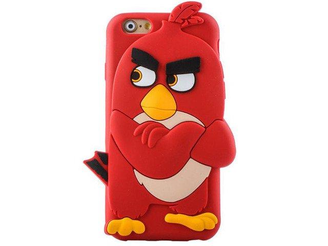 Etui Case Futerał iPhone 6 Angry Birds Czerwony