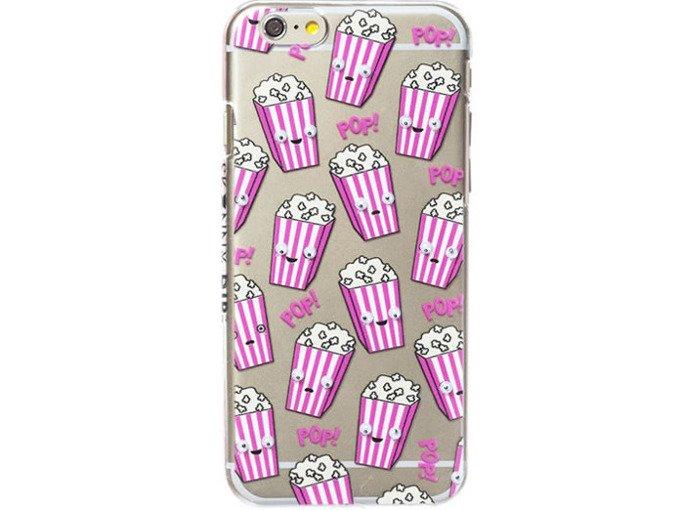 Etui Case Silikon Apple iPhone 7 PLUS POPCORN Kino