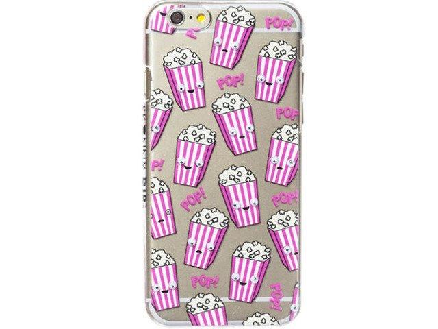 Etui Case Silikon Apple iPhone 7 POPCORN Kino