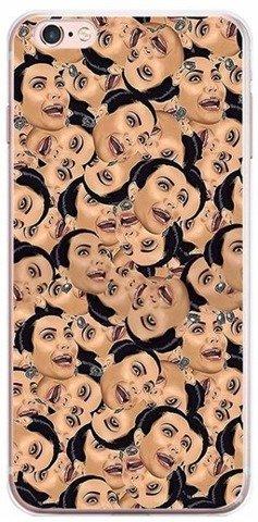 Etui Case Silikon iPhone 6 6s Kim Kardashian