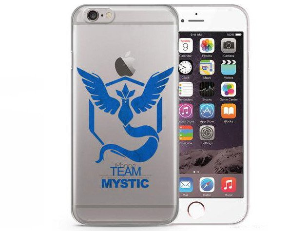 Futerał iPhone 5/5S/SE Case Pokemon GO Team MYSTIC