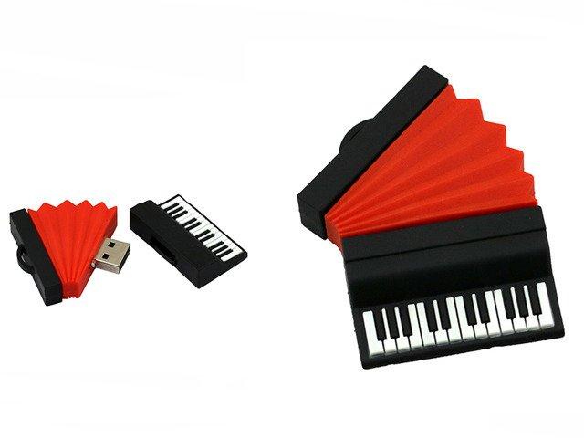 PENDRIVE AKORDEON MUZYKA USB PAMIĘĆ PREZENT 16GB