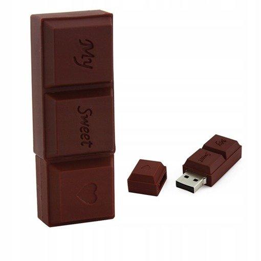 PENDRIVE CZEKOLADA JEDZENIE USB Flash PAMIĘĆ 64GB