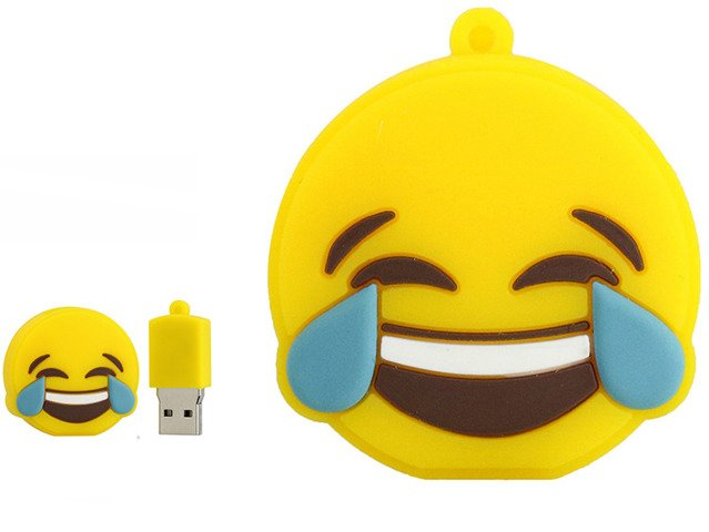 PENDRIVE EMOTIKONA BUŹKA ŚMIECH Flash PAMIĘĆ 8GB