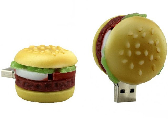 PENDRIVE HAMBURGER JEDZENIE PAMIĘĆ FLASH USB 8GB