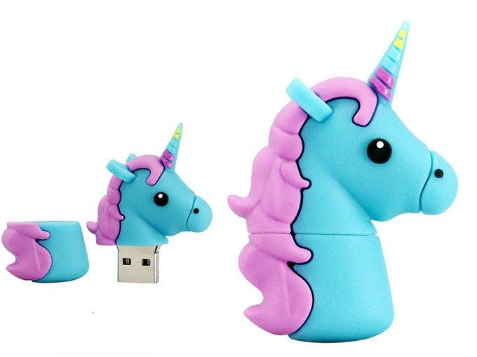 PENDRIVE JEDNOROŻEC USB UNICORN PAMIĘĆ FLASH 64GB