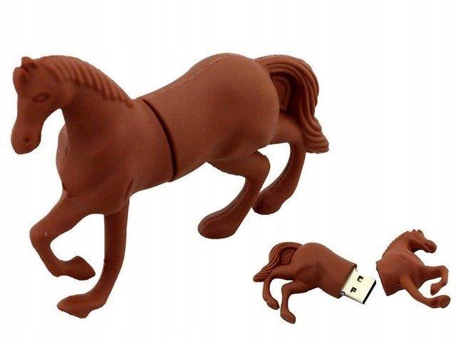 PENDRIVE KOŃ Konik Zwierzęta FLASH PAMIĘĆ USB 64GB