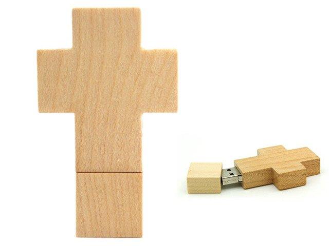 PENDRIVE KRZYŻ Katolicki RELIGIA FLASH PAMIĘĆ 16GB