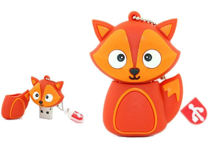 PENDRIVE LIS FOX ZWIERZĘ PAMIĘĆ FLASH USB 8GB