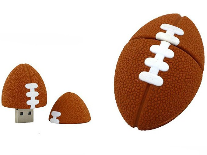 PENDRIVE PIŁKA Rugby Sport USB PAMIĘĆ FLASH 64GB