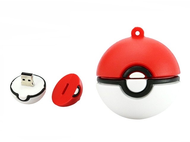PENDRIVE POKEBALL Pokemon GO USB Flash Pikachu 8GB