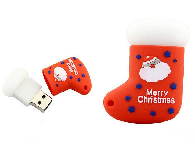 PENDRIVE SKARPETA Święty Mikołaj ŚWIĘTA USB 16GB