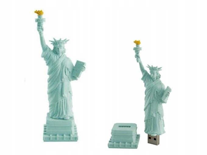 PENDRIVE STATUA Wolności USA Flash USB PAMIĘĆ 8GB