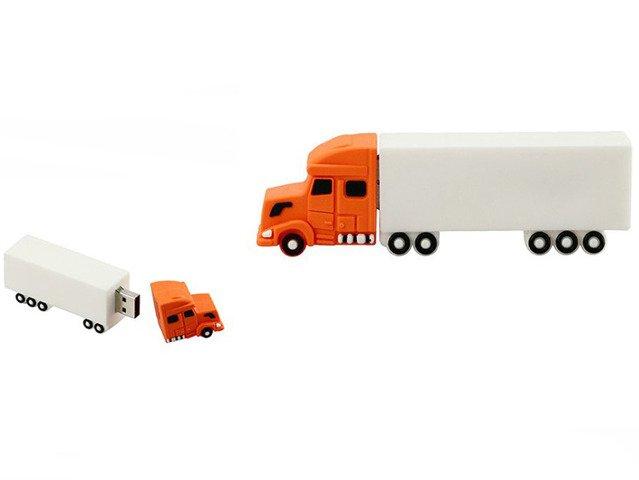 PENDRIVE TIR Ciągnik z Naczepą Zestaw USB 8GB