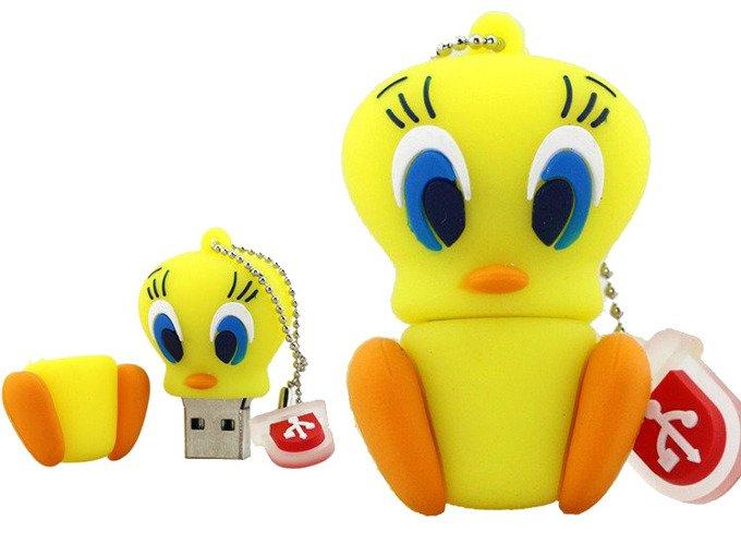 PENDRIVE TWEETY PTASZEK SYLWESTER USB Flash 16GB